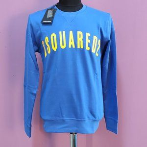 Dsquared 2 Navy Blue New Sweatshirt